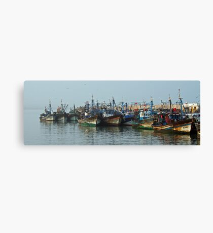 Fishing Fleet Canvas Print