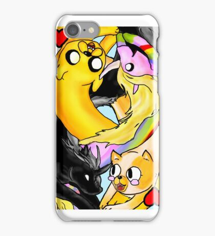 Adventure Time: Two of Hearts (Jake-side up) iPhone Case/Skin