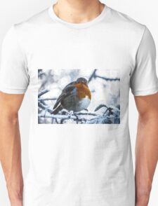 Artwork - Robin in the Snow T-Shirt