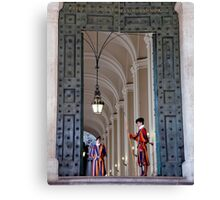 Vatican Guard - Swiss Guard Canvas Print