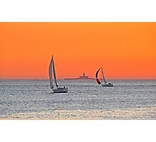 sailing home Photographic Print