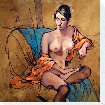 Female nude ~ Caroline by Roz McQuillan