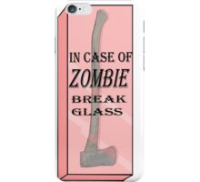 zombie attack  iPhone Case/Skin