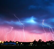 Lightning Storm by Joel Bramley