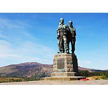 Commando Memorial Spean Bridge Photographic Print