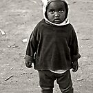 Kenya Children - Not Far From Home by Scott Denny