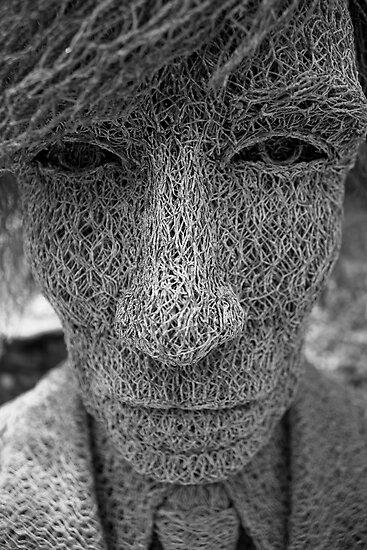 Warhol's Face by David Petranker