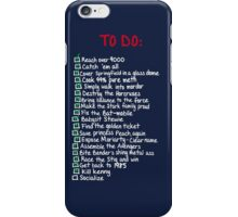 To Do: iPhone Case/Skin