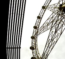 Southern Star Ferris Wheel, Docklands, Melbourne by Roz McQuillan