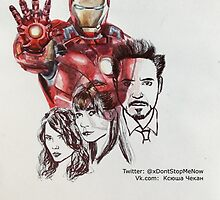 Iron Man by xDontStopMeNow