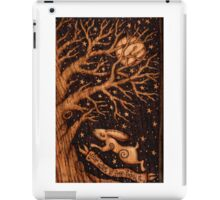 Your heart is free jumping hare iPad Case/Skin