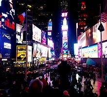 Times Square - New York by courdelle
