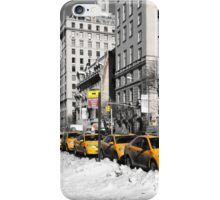 New York Yellow Taxi's iPhone Case/Skin