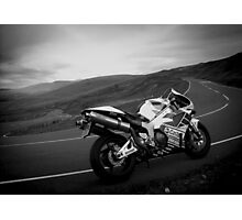 Black mountain twisties Photographic Print