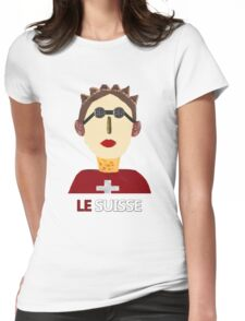The Swiss Womens Fitted T-Shirt