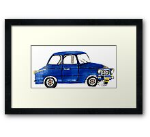 Crazy for Cars Framed Print
