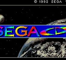 Sega CD Start Screen by CDSmiles