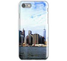 Skyline of Manhattan - New York iPhone Case/Skin