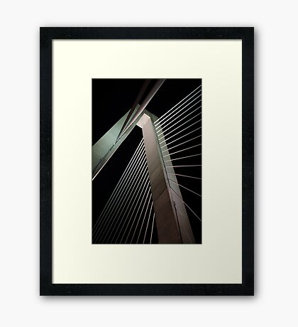Suspension 3 Framed Print