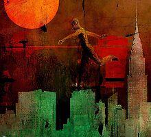 Jump on the green city by ganechJoe