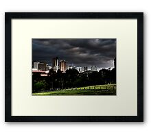 Adelaide from Monefiore Hill lookout. Framed Print