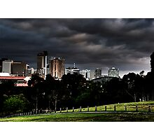 Adelaide from Monefiore Hill lookout. Photographic Print