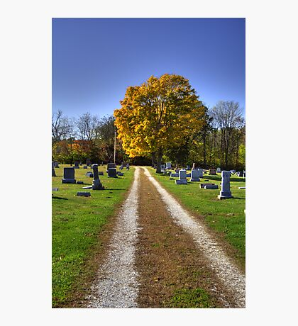 Franklin Cemetery Photographic Print