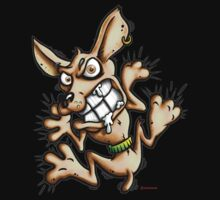 Cling Chihuahua by LinkArtworks