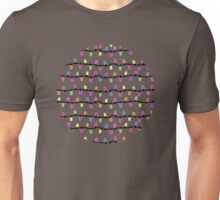 Party lights! blue Unisex T-Shirt