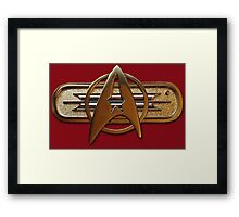 Star Trek: The Wrath of Khan insignia Framed Print