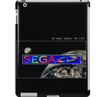 Sega CD Start Screen iPad Case/Skin