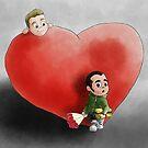 Valentine's waiting by Kitsune Arts