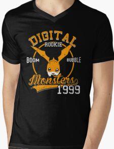 Boom Bubble Mens V-Neck T-Shirt