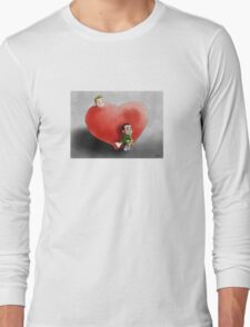 Valentine's waiting Long Sleeve T-Shirt