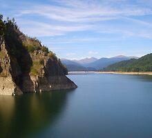 vidraru lake by Marian Enache
