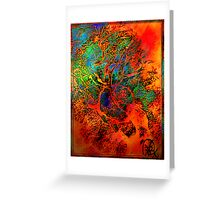 Tree of Life- Silk print Greeting Card