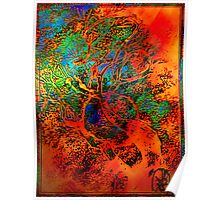 Tree of Life- Silk print Poster