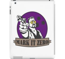 Mark It Zero iPad Case/Skin