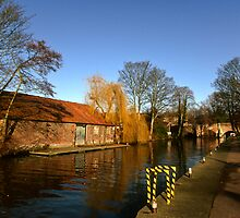 River Wensum, Norwich,UK  by Gary Rayner