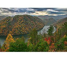 Autumn View Photographic Print
