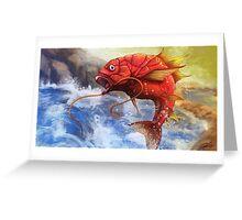 Magikarp used Splash Greeting Card
