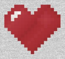 Love Pixel One Piece - Short Sleeve
