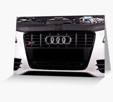 Audi S4 Greeting Card