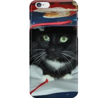 Kitty In a Bag iPhone Case/Skin