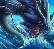 Gyarados by Ruth Taylor