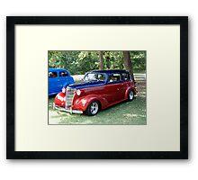 1938 Chevrolet HA Master DeLuxe Framed Print