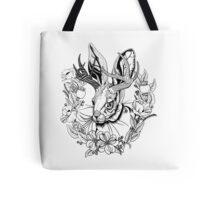 The Majestic Jackalope Tote Bag