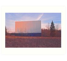 Screen - Echo Drive In Art Print
