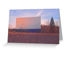 Screen - Echo Drive In Greeting Card