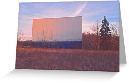 Screen - Echo Drive In by Steven Godfrey
